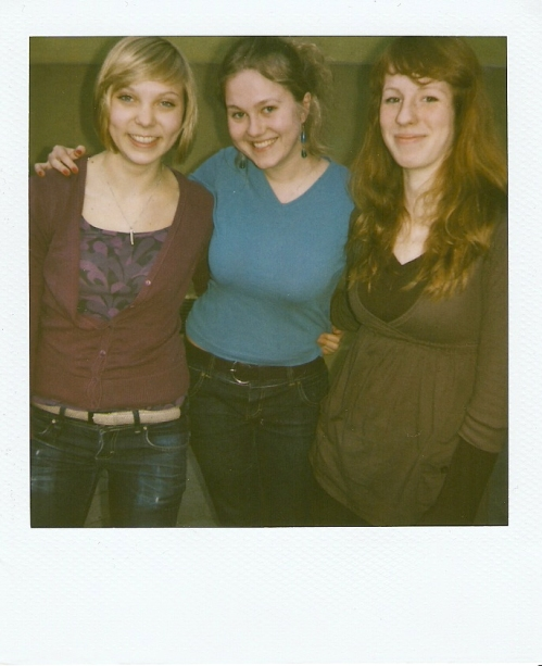 vasakult Elisa-Johanna, Mariell ja Sille
